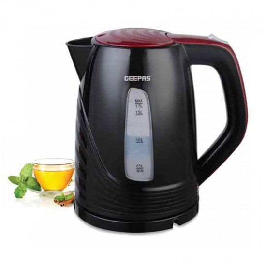 Geepas Electric Plastic Kettle 1.7 Ltr - GK5486