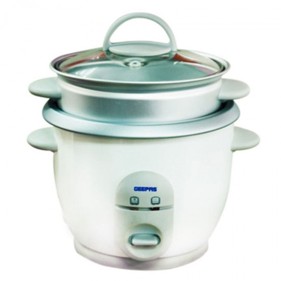 Geepas Electric Rice Cooker 0.9 Ltr - GRC1828