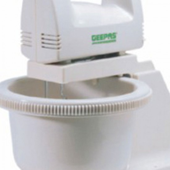 Geepas Hand Mixer Stand And Rotating Bowl - GHB2002