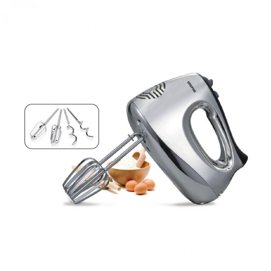 Geepas Hand Mixer 200W 5 Speed - GHM6127