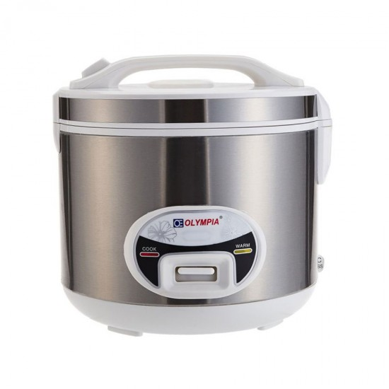 Olympia 2.0 Liter Rice Cooker With Steamer OE-600