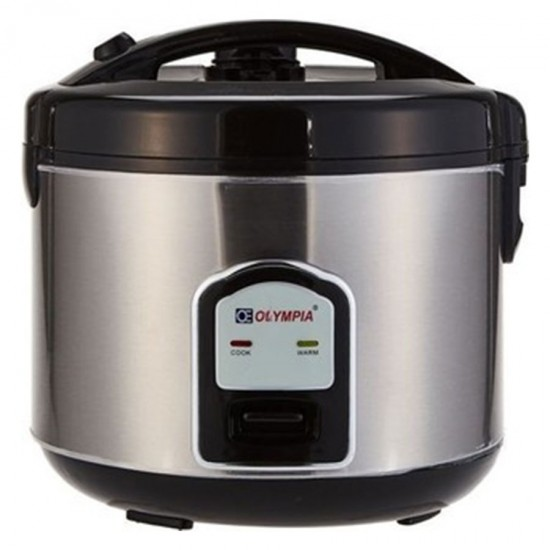 Olympia 1.8 Liter Rice Cooker With Steamer OE-400
