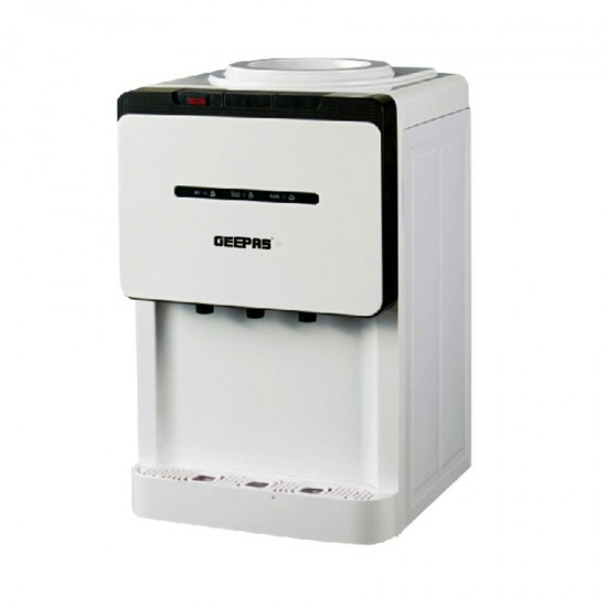 Geepas Table Top Water Dispenser Hot Normal Cold - GWD8358