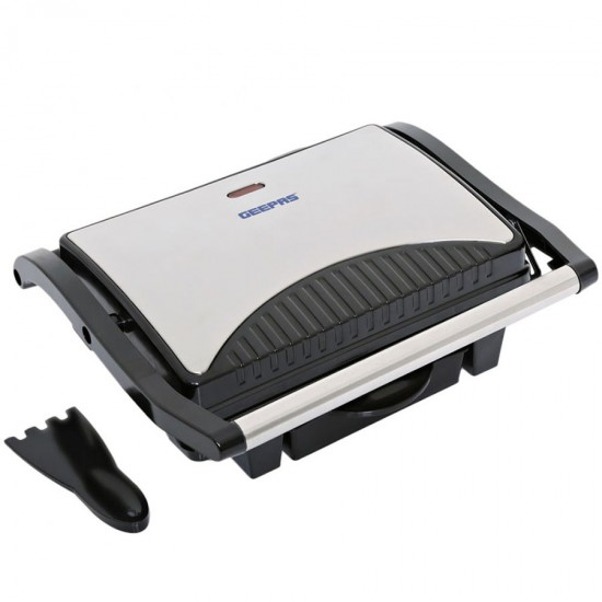Geepas SS Grill Maker Nonstick Grill Surface - GGM5394