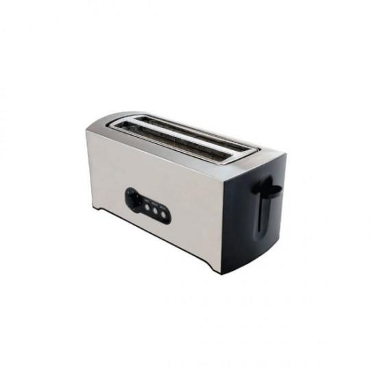 Geepas 4-Slice Bread Toaster SS Body - GBT6153
