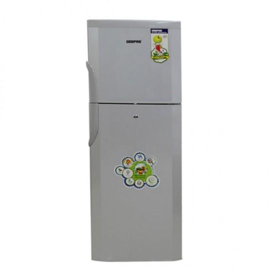 Geepas 410L, No Frost, Double Door, Refrigerator - GRF4154SXN