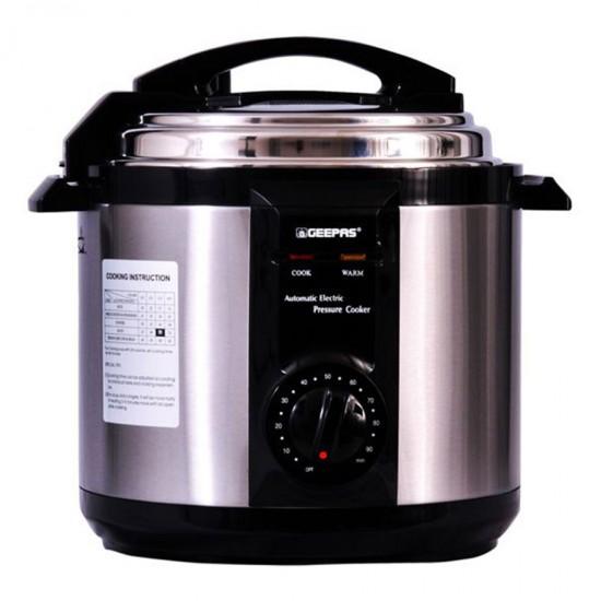 Geepas 6Ltr Electric Pressure Cooker - GPC307