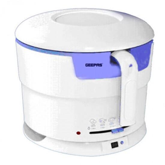 Geepas Deep Fryer 2.2Ltr, Blue & White - GDF3772