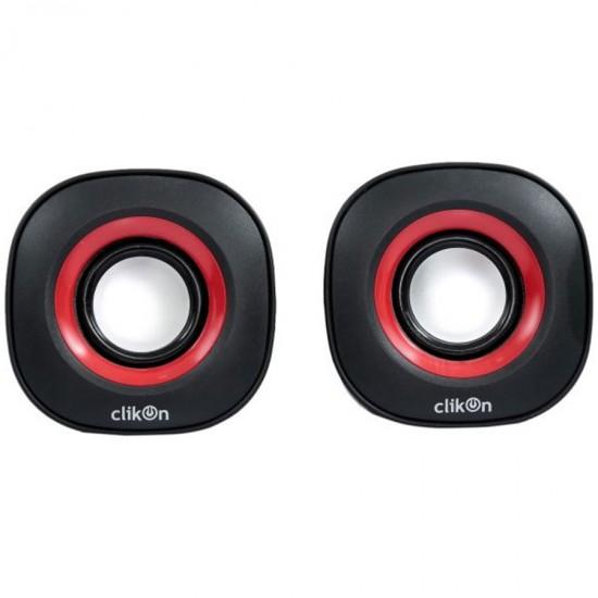 Clikon 2 PCS PC Speaker - CK2904