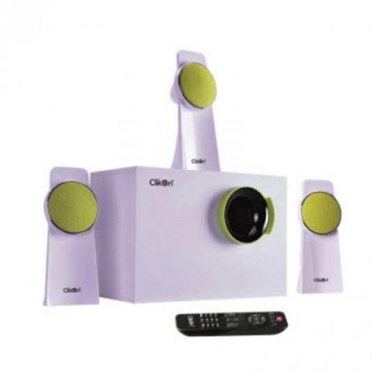 Clikon Multi Media Speaker System 3 IN 1 CK801