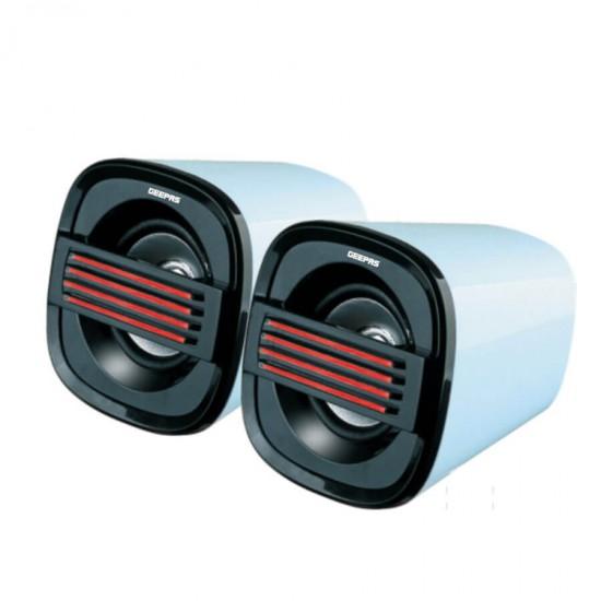 Geepas 2.0 Ch Mini USB Speaker - GMS8416