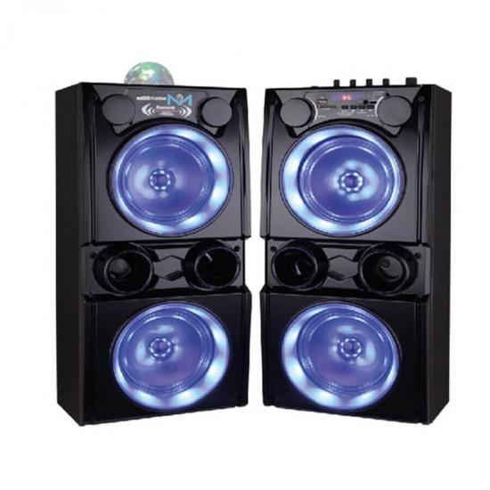 Geepas 2.0 Ch Profs Speaker System Usb Fm Rmt Bt - GMS8541