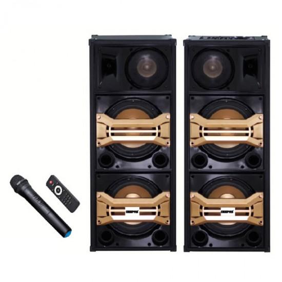 Geepas 2.0 Speaker Usb Fm Bt Rmt Mic - GMS8517