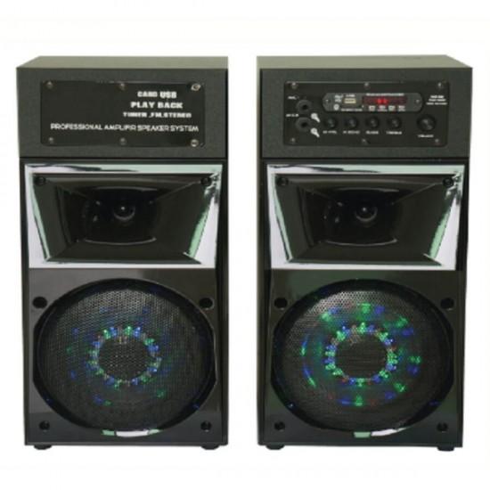 Geepas 2.0 Speaker Usb Fm Bt Rmt Mic - GMS8540