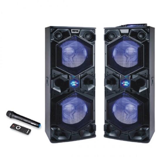 Geepas 2.0 Speaker Usb Fm Bt Rmt Mic - GMS8569