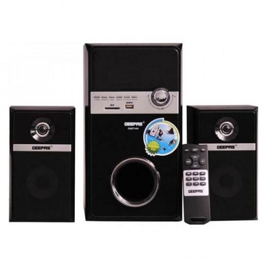 Geepas 2.1 Ch Multimedia Speaker Usb Fm Rmt Bt - GMS7494N