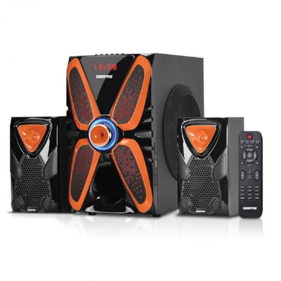 Geepas 2.1 Multi Speaker Usb Fm Bt Rmt - GMS8586