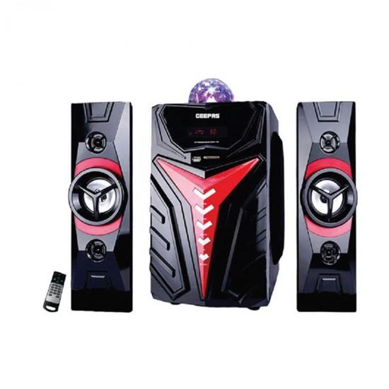 Geepas 2.1 Multi Speaker Usb Sd Fm Bt Disco Remote - GMS8807