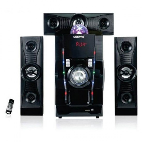 Geepas 3.1 Home Theater Usb Sd Fm Bt Rmt - GMS8806