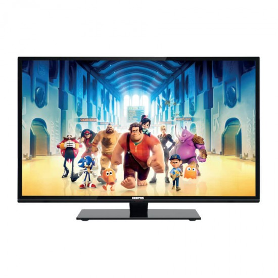 Geepas 32 LED Television (TV) Clear HD With Wall Bracket - GLED3203XHD