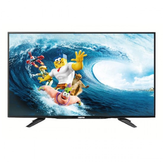 Geepas 40   Clear Hd Led Television (TV) Usb HDMI - GLED4051EHD