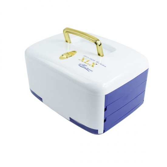 Makeup Kit With Box - 2001X-Blue