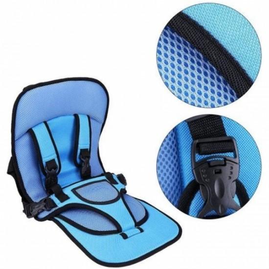 Baby Car Seat Cushion Blue