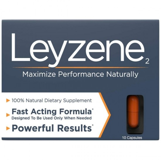 Leyzene₂ wRoyal Jelly. The New Most Effective Natural Amplifier for Performance, Energy