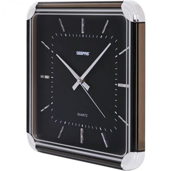 Geepas Wall Clock Glass Print - GWC3384