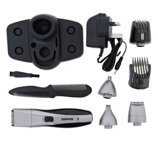 Geepas 7 In 1 Rechargeable Grooming Kit - GTR8653