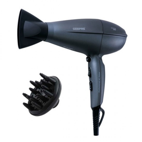 Geepas Hair Dryer Cool Shot 2Speed 3Heat - GHD86009