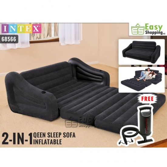 Intex Inflatable Pull Out Sofa Bed 68566