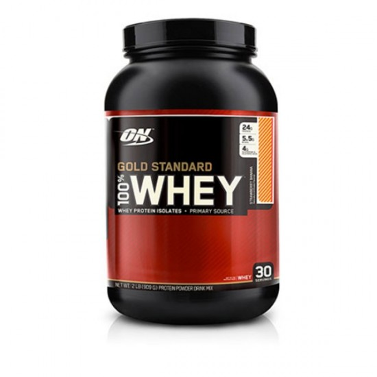 Optimum Nutrition Gold Standard 100 Whey Strawberry Banana - 2 lbs