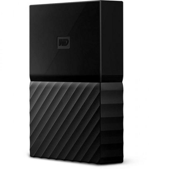 WD 2TB Portable External Hard Drive USB 3.0 - Black, WDBYFT0020BBK