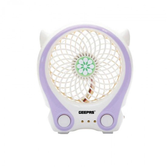 Geepas Rechargeable Mini Fan - GF9629