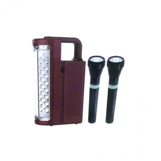 Geepas Rechargeable LED Lantern And Flashlight - GEFL4141