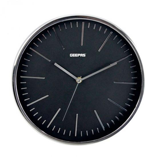 Geepas Wall Clock 3D Silver Dial - GWC26012