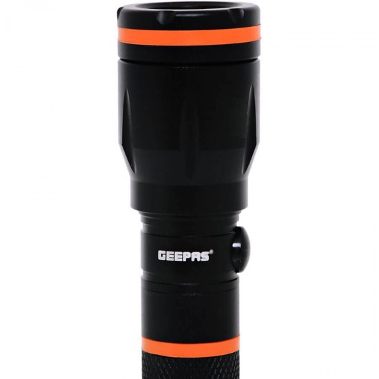 Geepas Rechargeable Led Flash Light Water Proof 152Mm - GFL4659