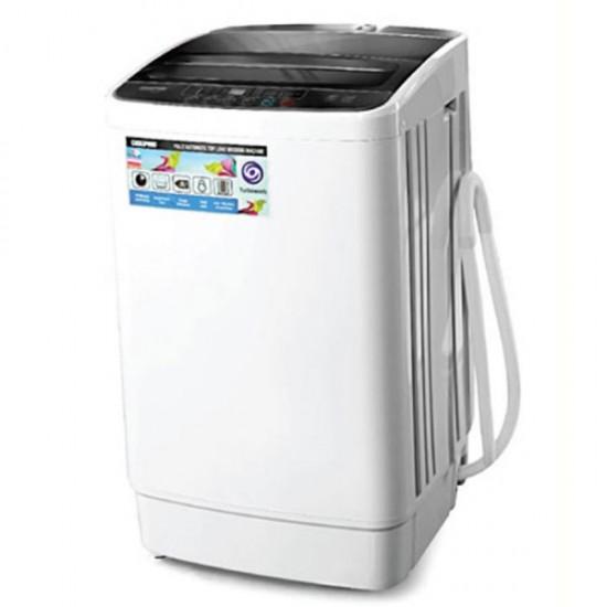 Geepas Fully Auto Washing Machine, TopLoad, 6K - GFWM6800LCQ