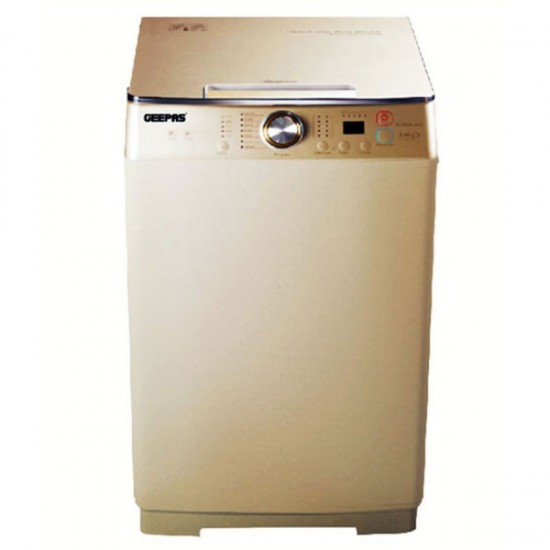 Geepas Fully Auto Washing Machine, Top Load, 9K - GFWM9800LCQ