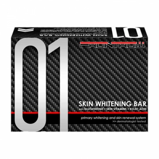 Frontrow Luxxe 01 Skin Whitening Soap Bar With Glutathione, Kojic Acids & Skin Vitamins