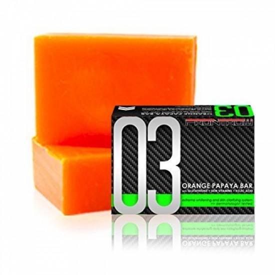 Frontrow Luxxe 03 Orange Papaya Bar With Glutathione + Skin Vitamins + Kojic Acid