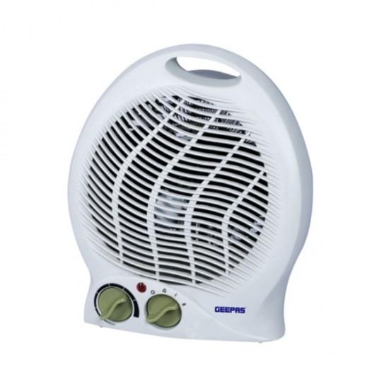Geepas Fan Heater, 2 Heat Setting, Temprature Control - GFH9521