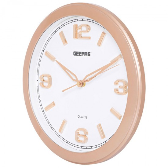Geepas Wall Clock Taiwan Movement - GWC4806