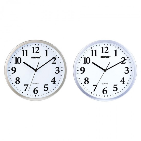 Geepas Wall Clock Taiwan Movement - GWC4816