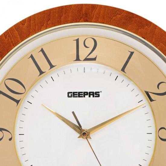 Geepas Wall ClockTaiwan Movement - GWC4809