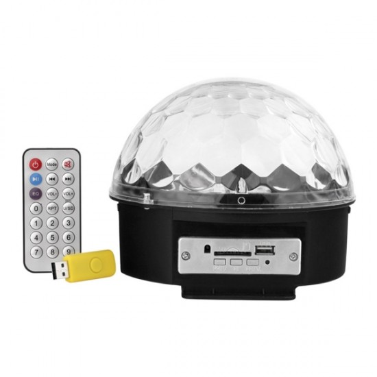 42 PCS Ceramic Dinner Set And LED Crystal Magic Ball Lifht Speaker Plus Remote Control-bnd-2030