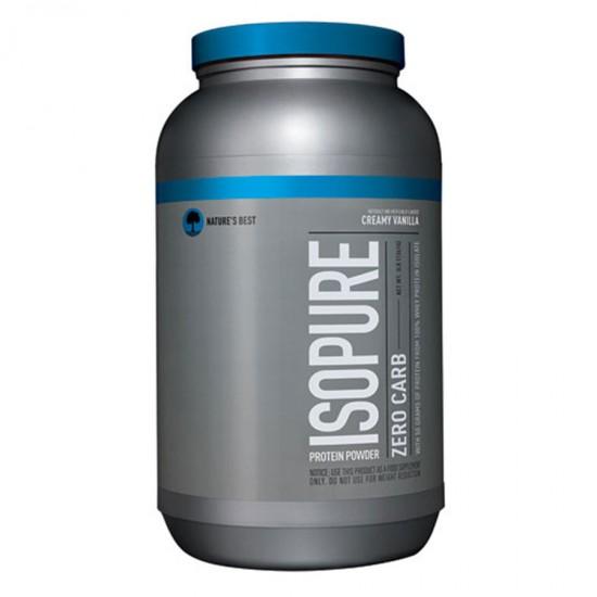 Nature s Best Perfect Zero Carb Isopure® Creamy Vanilla - 3 lbs
