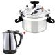 2 In 1 Bundle Offer 5 Liter Pressure Cooker+Electric Kettle BND17-22