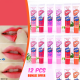 12 Pcs Wow Romantic Lipstick BND17-92